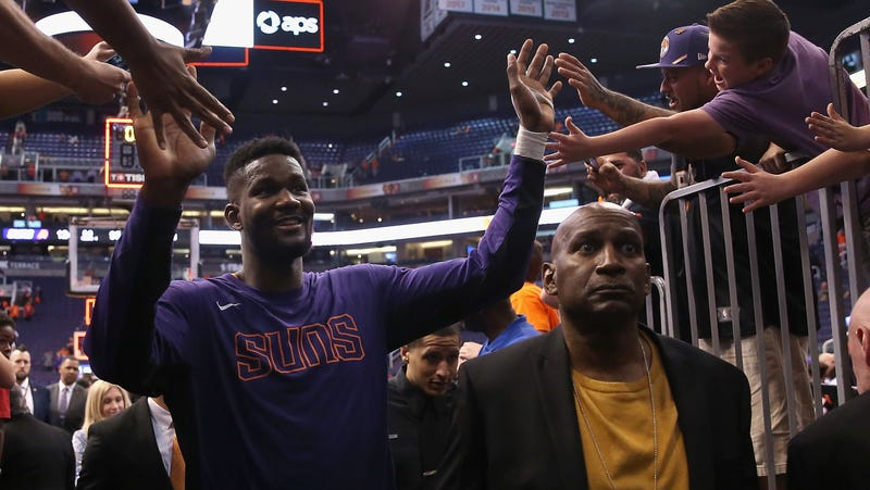 Illustration for article titled Deandre Ayton Suspended For 25 Games, How Are The Suns Always Like This