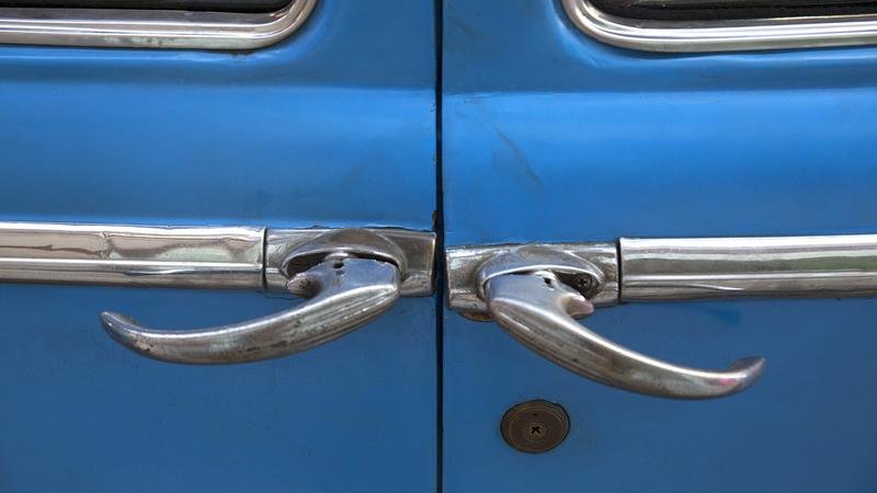 The Door Handles Of Cuba S Vintage Cars