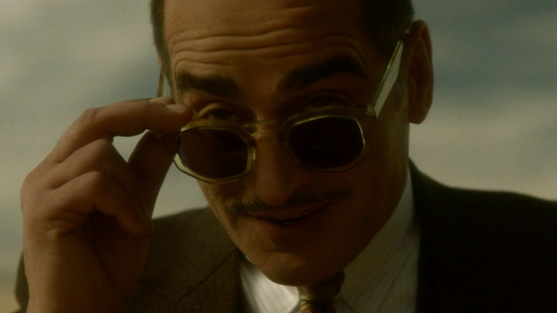 Farouk (Navid Negahban) has a tempting offer and some sweet style.