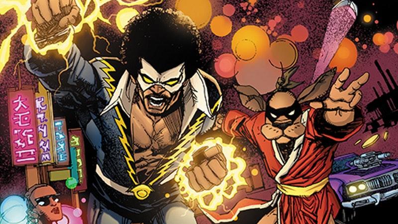 Cover art for Black Lightning/Hong Kong Phooey.