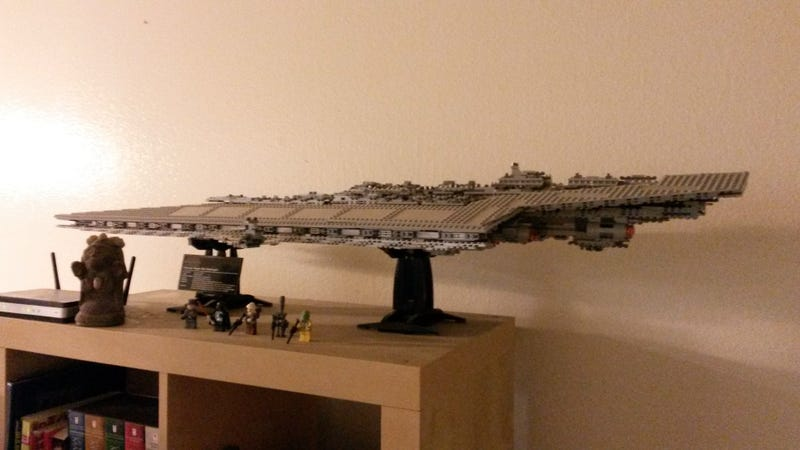 Illustration for article titled My LEGO Super Star Destroyer (because someone asked for it)
