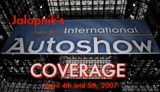 Illustration for article titled A Jalopnik in New York: Auto Show 2007