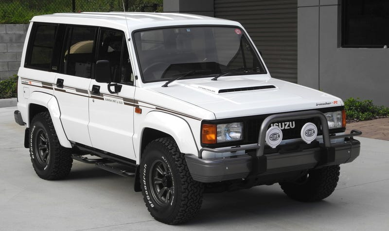 for 33 000 does this 1989 isuzu trooper bighorn irmscher r turbo diesel impress. Black Bedroom Furniture Sets. Home Design Ideas