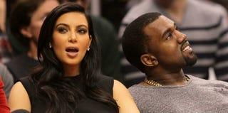 Kim Kardashian and Kanye West (Getty Images)