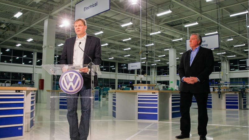 Illustration for article titled Tennessee Volkswagen Workers Reject UAW