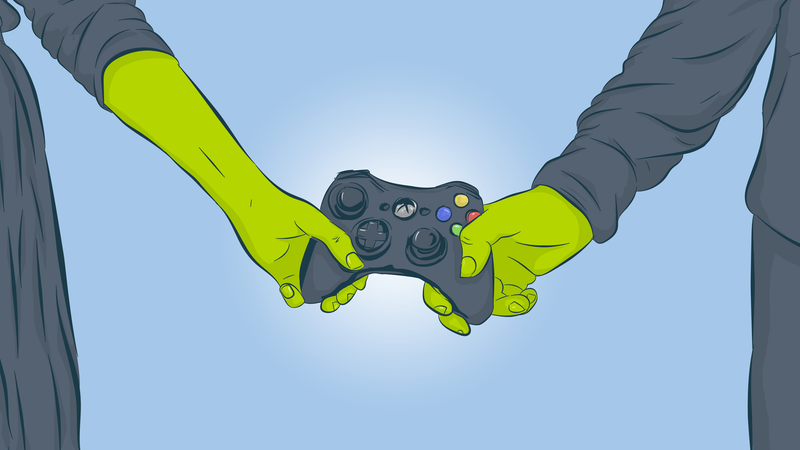 Illustration for article titled The Ways Video Games Helped You Find Love