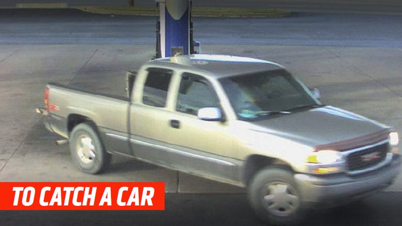 Illustration for article titled Identify This Truck And Help Police Catch A Gas Thief
