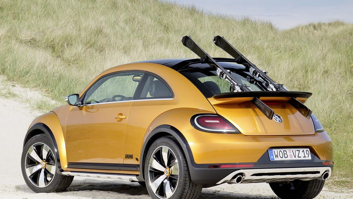 Off Road Vw Beetle Dune Is Go For Production With Ragtop Version