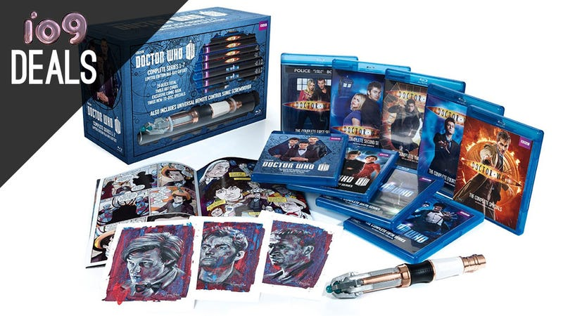Illustration for article titled A TARDIS Full of Doctor Who, Godfather Blu-rays, Amazon FireTV [Deals]