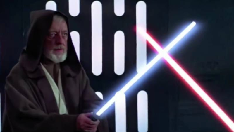 Lightsabers in Star Wars
