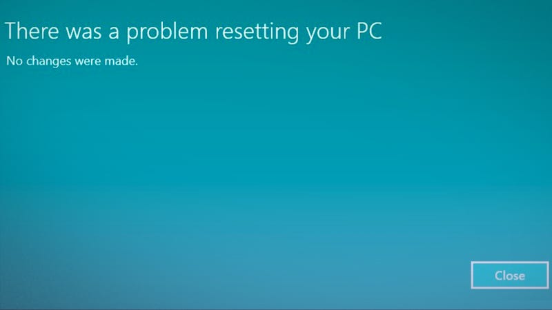 How to 'Refresh' Your PC When Windows Says There's a Problem