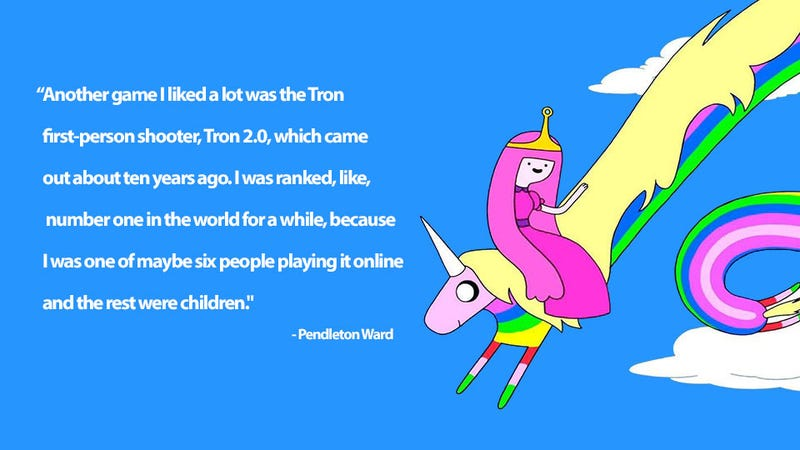 Illustration for article titled How Adventure Time's Creator Beat Up On Small Kids (In a Video Game)
