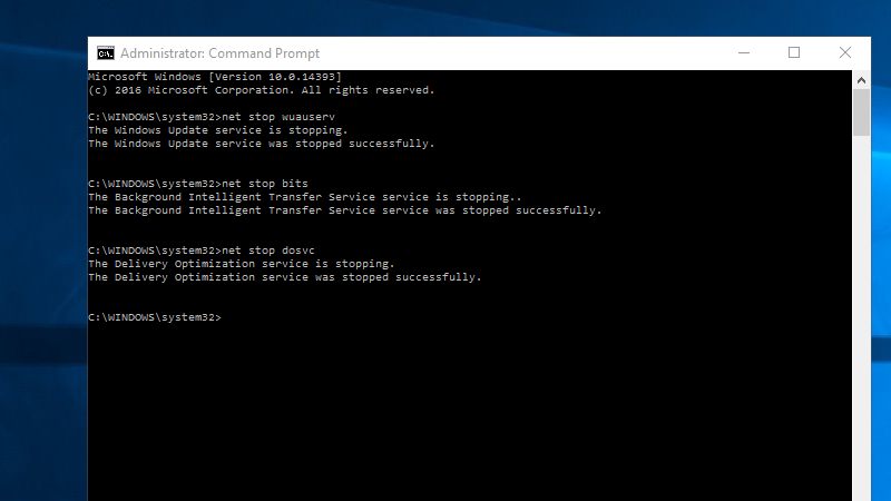 Pause Windows 10 Updates Easily From the Command Line