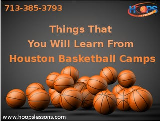Illustration for article titled Things That You Will Learn From Houston Basketball Camps