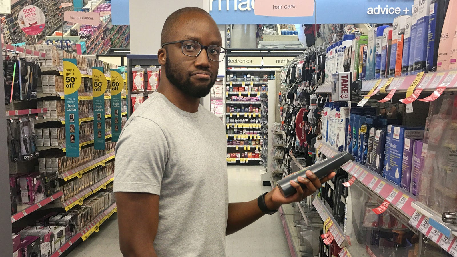 Black Man At Walgreens Impressed By How Attentively Employees Tailing Him