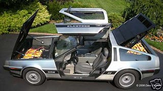Illustration for article titled Nice Price Or Crack Pipe: The $100,000 Electric De Lorean!