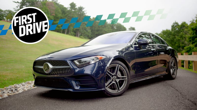 The 2019 Mercedes-Benz CLS 450 Is a Glorious Return for the Straight ...