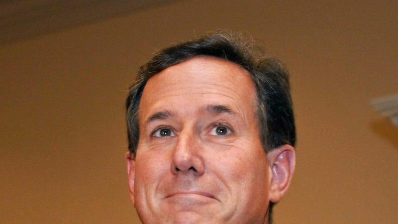 Illustration for article titled Rick Santorum's Mardi Gras of WTF