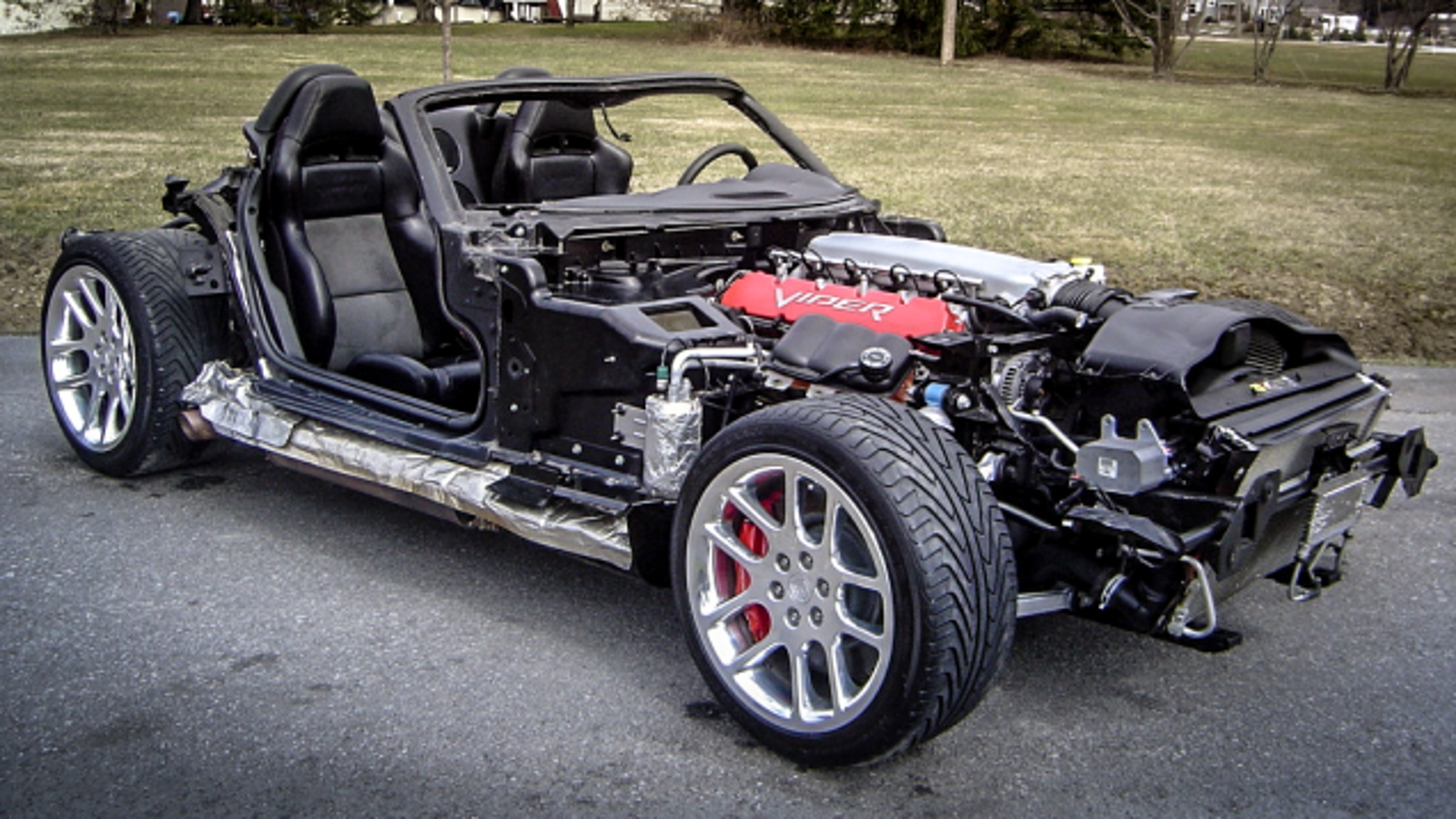 This Stripped Dodge Viper Is The Go Kart Project Of Your Nightmares