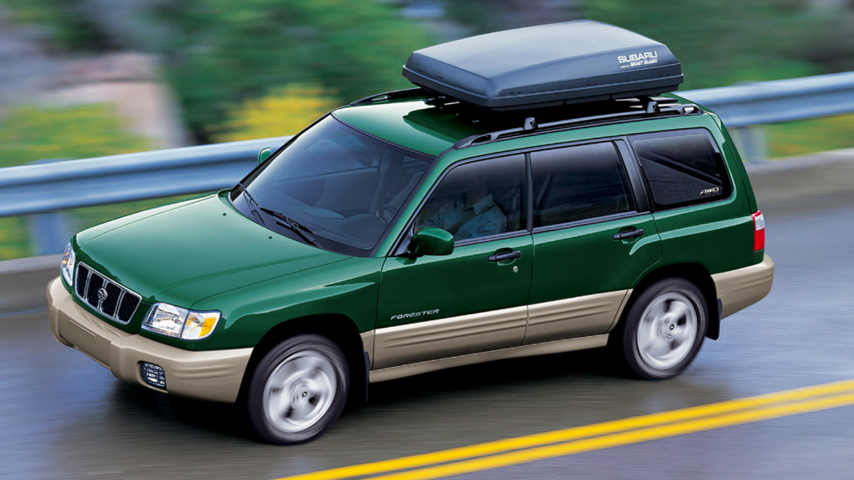 Take Time to Appreciate the First Generation Subaru Forester