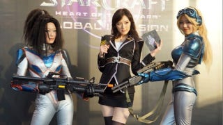 Illustration for article titled Korea's Best Cosplayers Take on StarCraft II: Heart of the Swarm