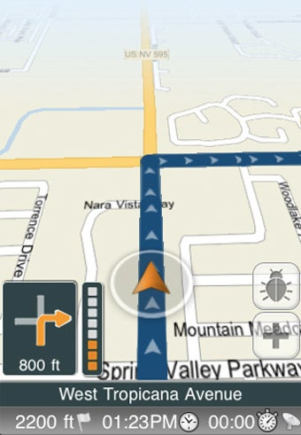 Illustration for article titled Skobbler Brings Free Street-Level, Turn By Turn Directions to the iPhone