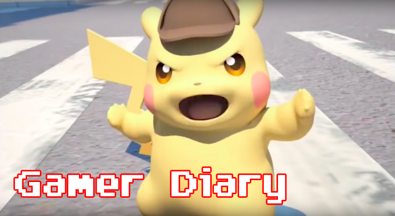 Illustration for article titled Gamer Diary: Detective Pikachu