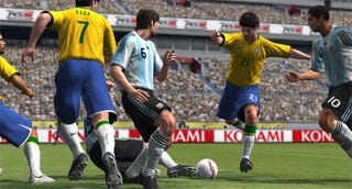 """Illustration for article titled Pro Evo 2009 """"Announced"""""""