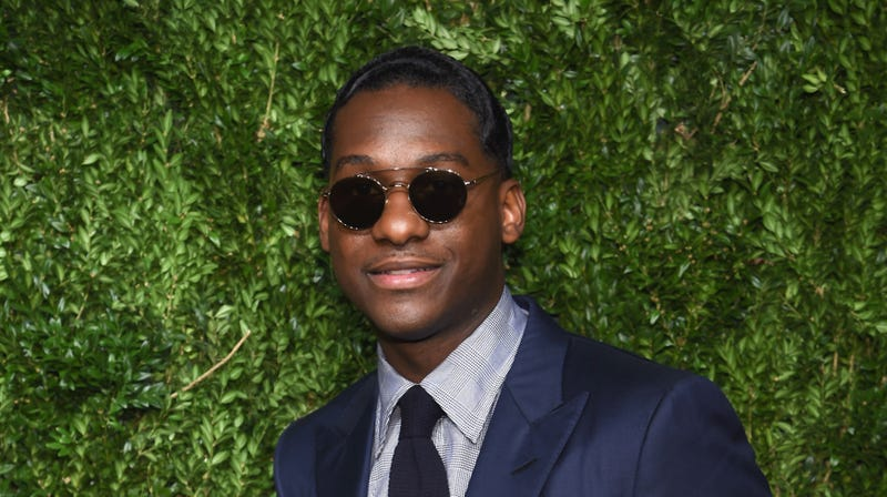 Leon Bridges attends the 14th Annual CFDA/Vogue Fashion Fund Awards on November 6, 2017 in Brooklyn, New York.