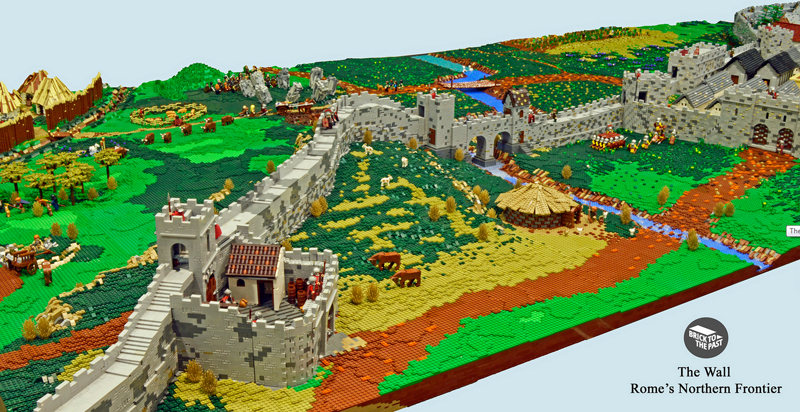 Illustration for article titled Enthusiasts Created A Giant Roman Empire Display From LEGO