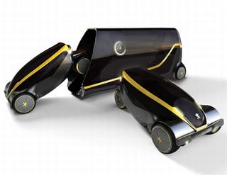 Illustration for article titled Taxi Tokyo Concept Merges Bus With Taxi