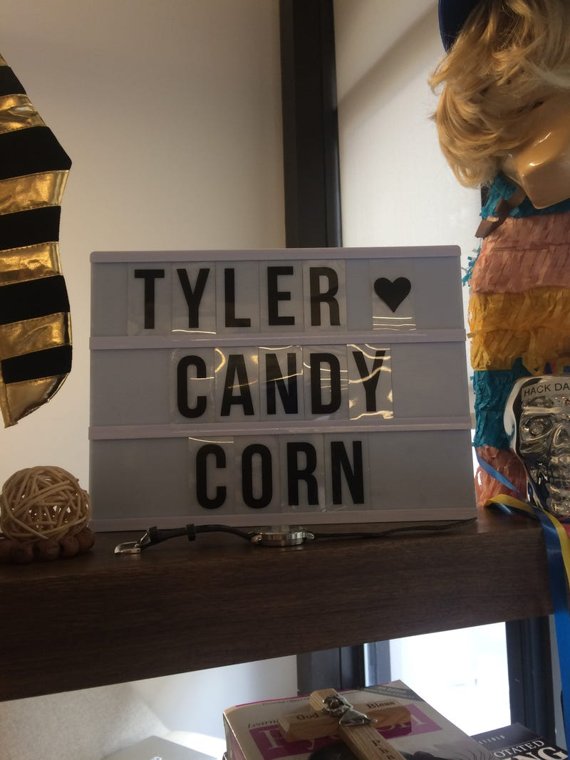 Illustration for article titled Tyler <3 Candy Corn