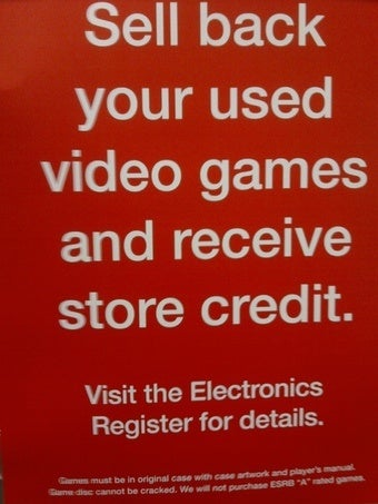 Illustration for article titled Toys R Us Testing Used Game Sales and Buy Backs