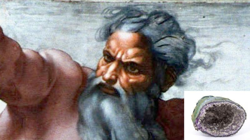 Illustration for article titled God Struggling To Remember How To Make Geodes