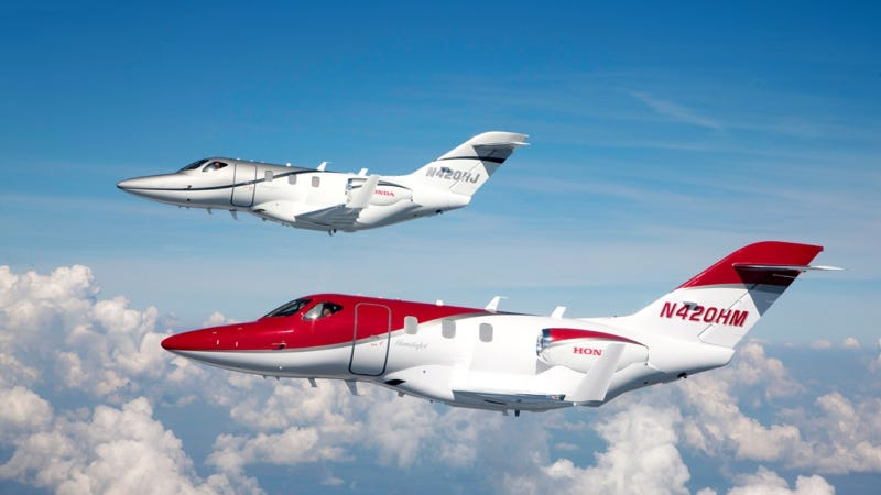 Illustration for article titled HondaJet Enters Final Phase Of Certification Flight Testing After Receipt Of US FAA Type Inspection Authorization