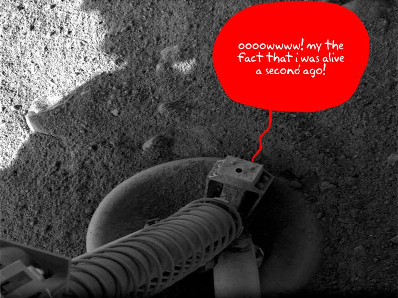 Illustration for article titled Mars Phoenix: We Got Touchdown