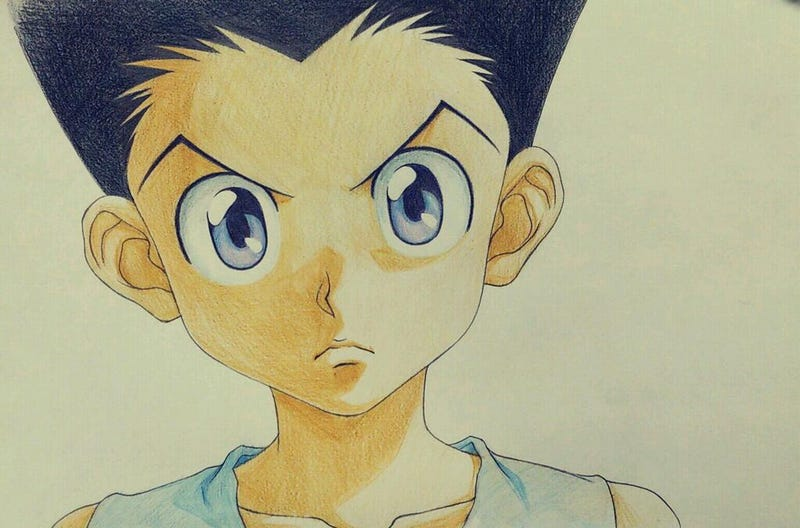 Illustration for article titled Individual Frames From The Anime Hunter X Hunter Are Amazing, Revealing