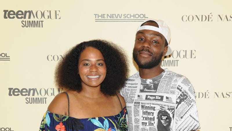 Crissle West and Kid Fury attend Teen Vogue Summit 2018: #TurnUp - Day 1 on June 1, 2018 in New York City.