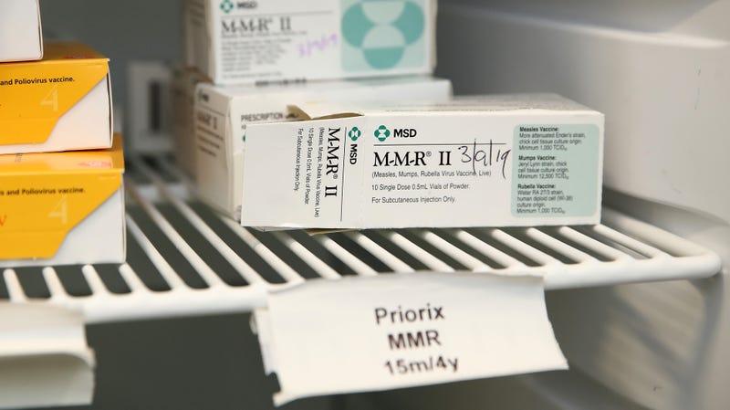 The MMR vaccine.