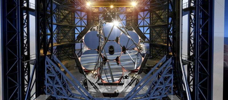 Illustration for article titled World's Largest Telescope Begins Construction