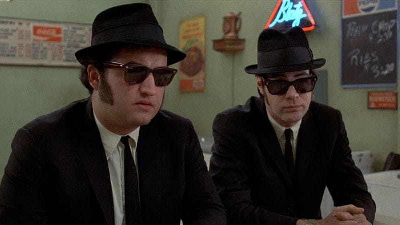 9d8fae284d30d The Blues Brothers. The Blues Brothers. Though John Belushi s death in 1982  had ...