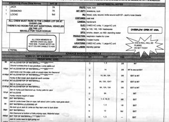 Illustration for article titled What Does This (Possibly Fake) Call Sheet Tell Us About The Lost Series Finale?