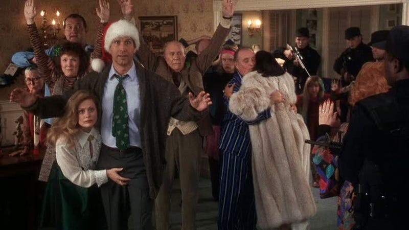 Christmas Vacation How A Perfect Family Holiday Goes