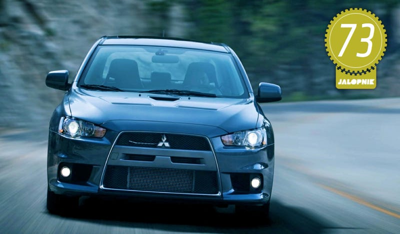 Illustration for article titled 2013 Mitsubishi Lancer Evolution X MR: The Jalopnik Review