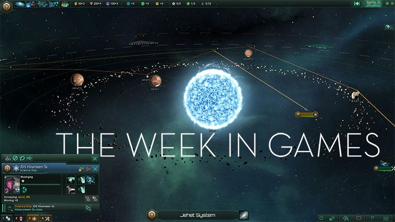 Illustration for article titled The Week In Games: Stellaris And Antibiotics