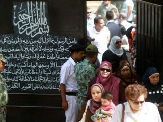 Egyptian voters (Getty Images)