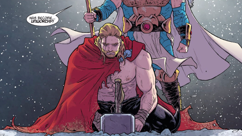 Illustration for article titled The Mystery That Made Thor Unworthy Has Been Revealed