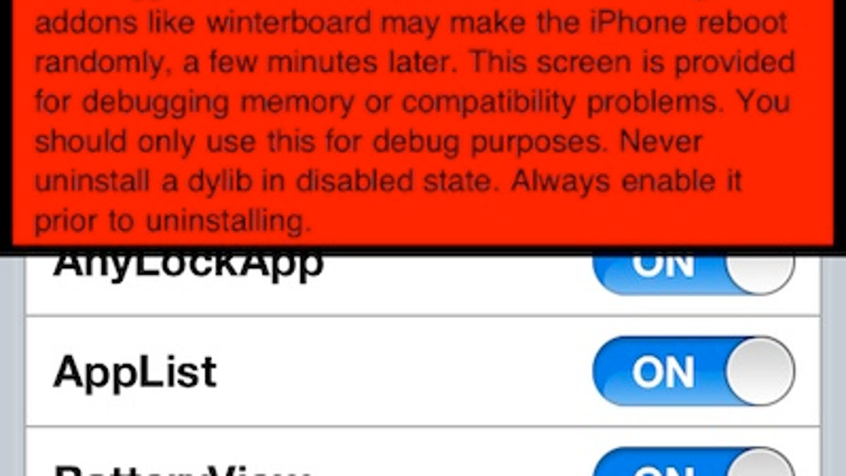 How Do I Figure Out What's Slowing Down My Jailbroken iPhone?