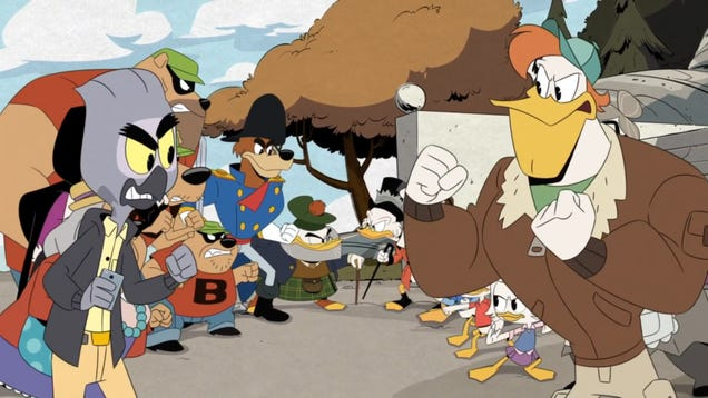 DuckTales–excuse me, GlomTales–gathers a villainous family for sweet, sweet revenge