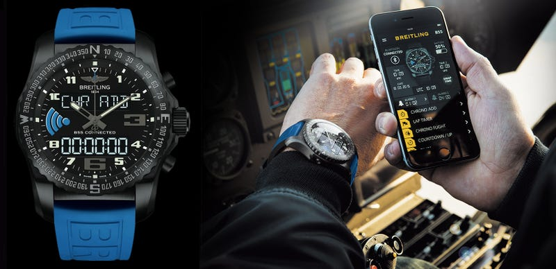Illustration for article titled Breitling's First Smartwatch Isn't Overloaded With Functionality